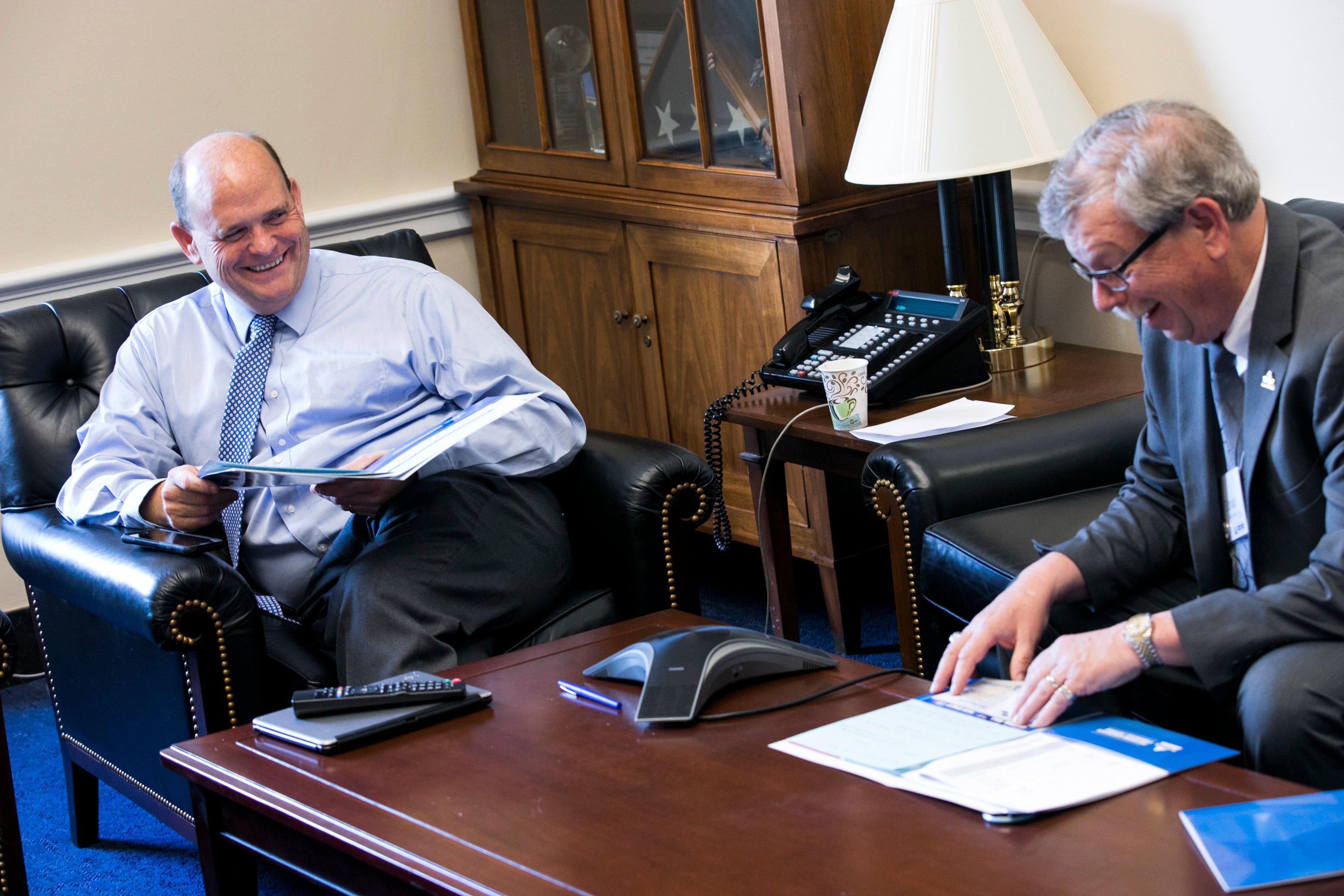 NAIFA New York Members meet with Rep. Tom Reed