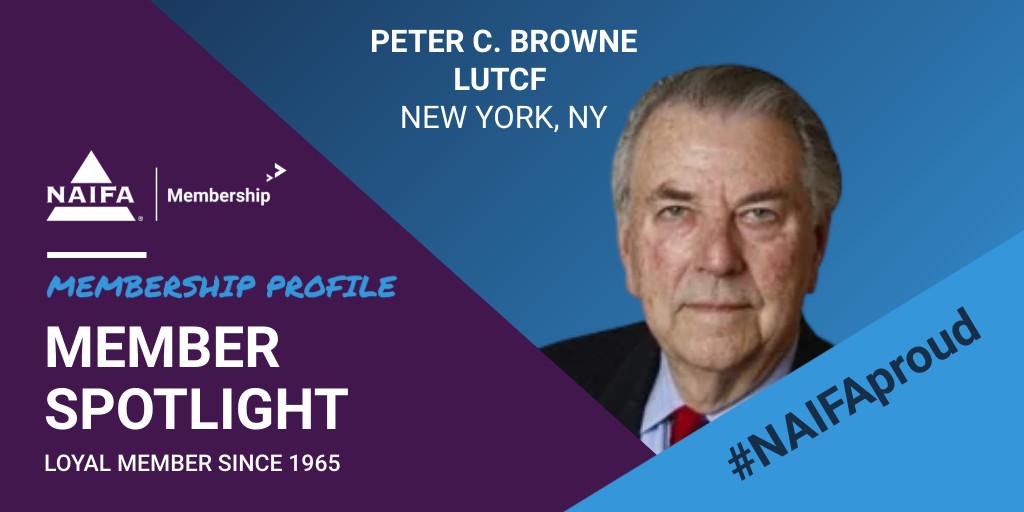 Loyal Member Profile: Peter Browne